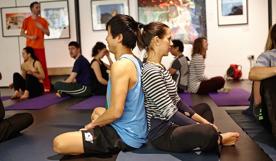 SIngles Yoga with Richard Brook of Creative Wellness