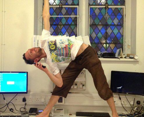 Corporate Yoga with Richard Brook