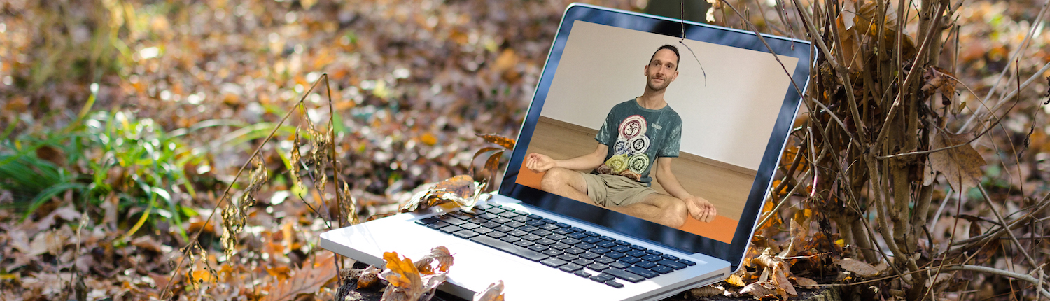 Online wellness coaching with Richard Brook featuring treatments, yoga, mindfulness