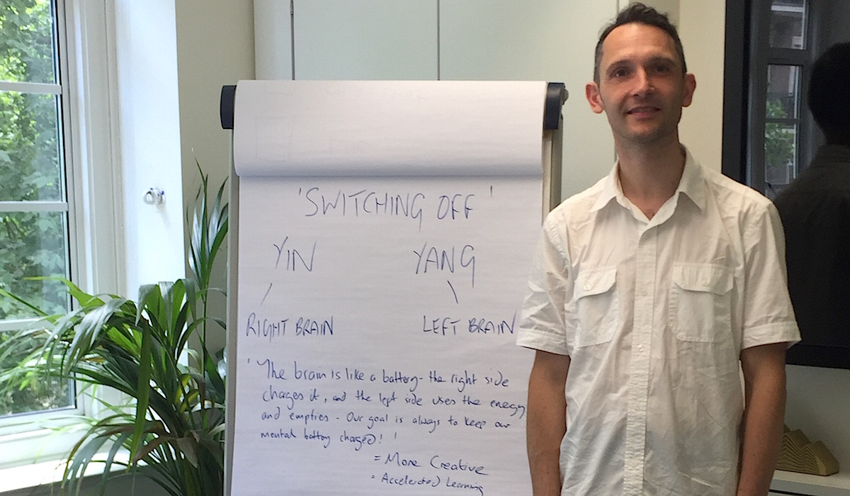 Richard Brook Bespoke Corporate Yoga and Workplace Wellbeing Events London
