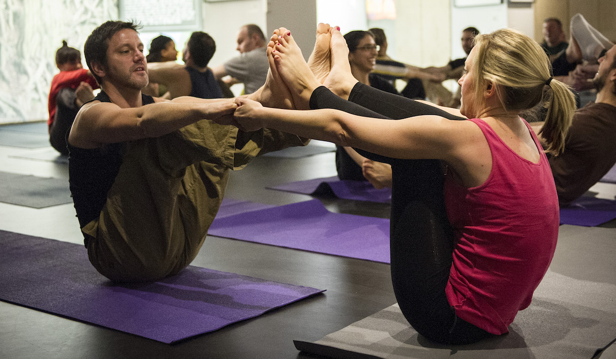 Partner Yoga London with Richard Brook