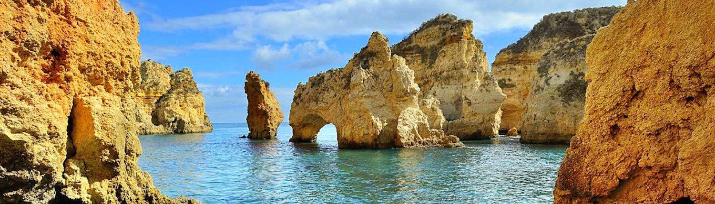 Ponta-da-Piedade, wellness retreats in Portugal with Richard Brook