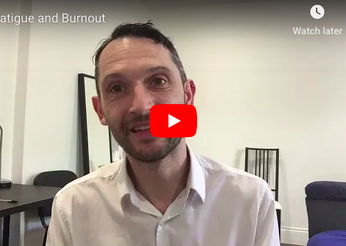 Fatigue and Burnout Corporate Blog RIchard Brook
